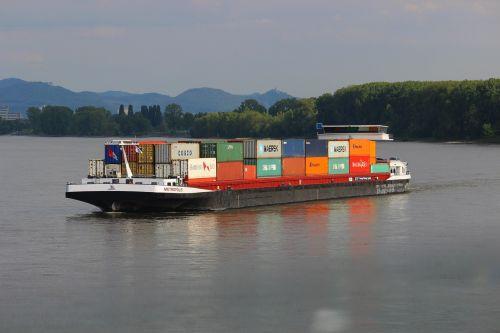 rhine shipping industry