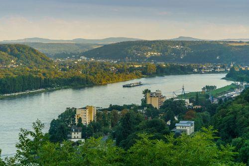 rhine bad honnef germany siebengebirge