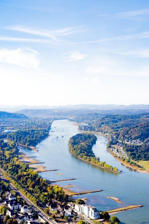 rhine  siebengebirge  river