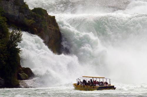 rhine falls schaffhausen excursion boat