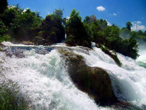 rhine falls waterfall schaffhausen