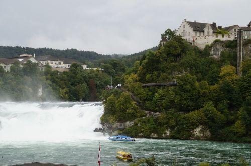 rhine falls switzerland schaffhausen