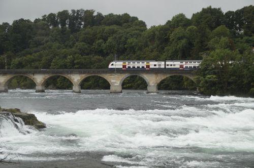rhine falls rhine bridge