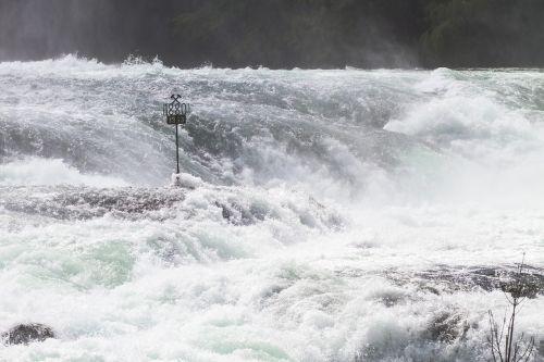 rhine falls rhine waterfall