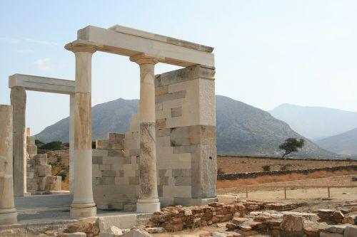 rhodes columns greece
