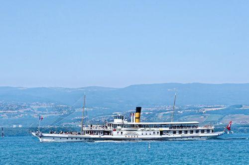 rhone paddle steamer boat