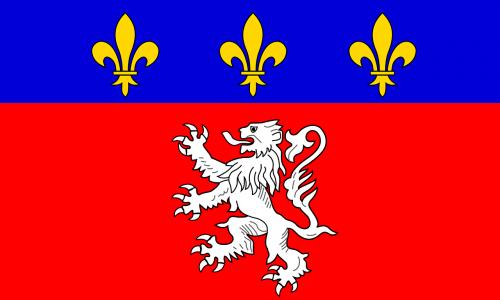 rhone-alpes flag region
