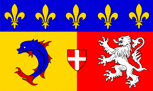rhone-alpes flag official