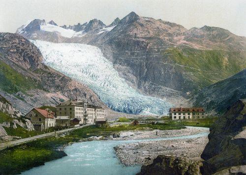 rhone glacier glacier 19 century