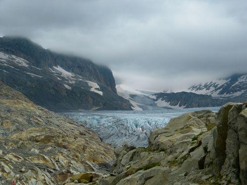 rhone glacier glacier ice