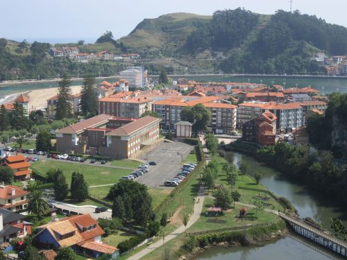 ribadesella landscape asturias