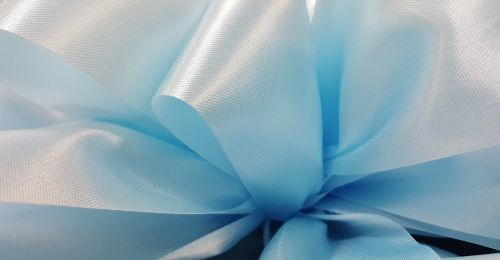 ribbon bow blue ribbon