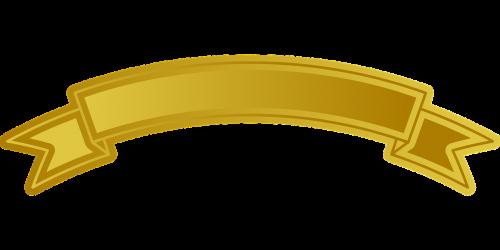 ribbon banner design
