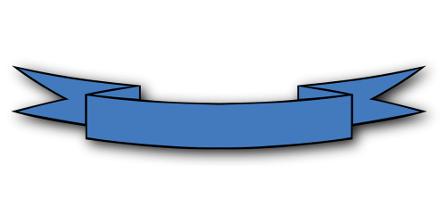 ribbon blue bow