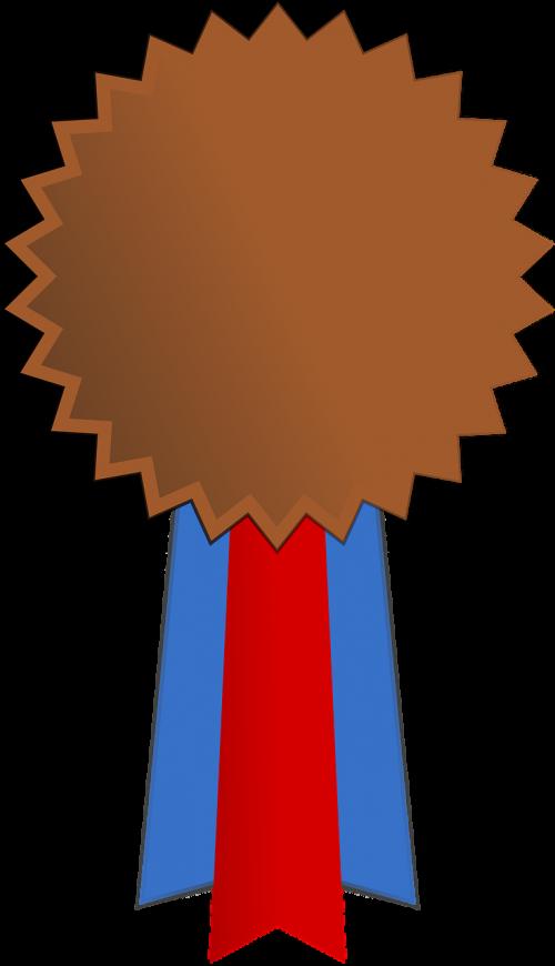 ribbon bronze medal