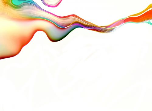 Ribbon Abstract