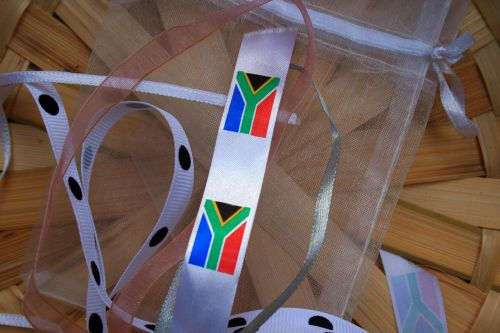 Ribbon With South African Flag