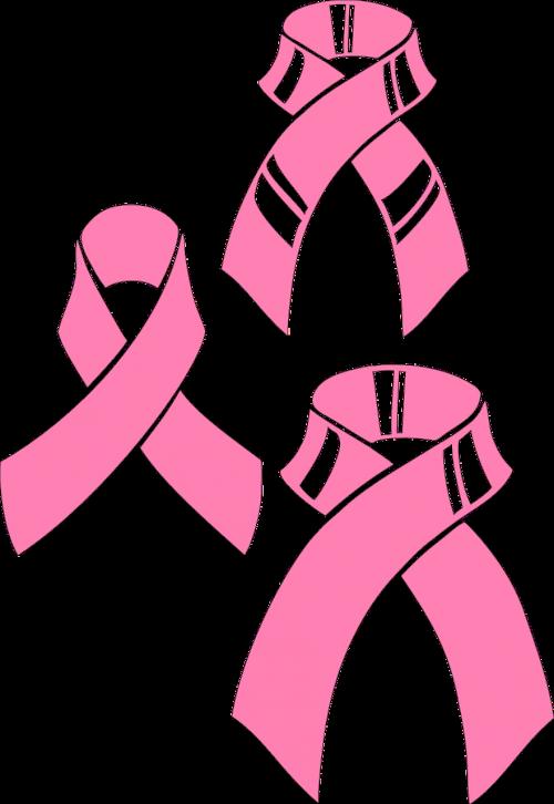 ribbons pink festive