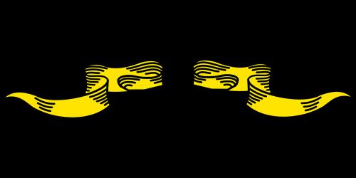 ribbons separate yellow