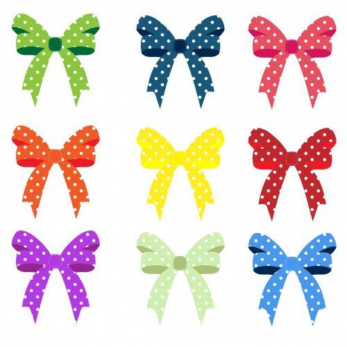 Ribbons & Bows Polka Dots