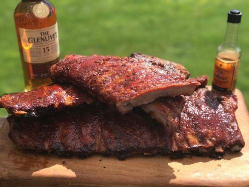 ribs pork smoked meats