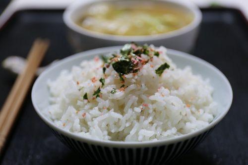 rice japan cuisine bowl