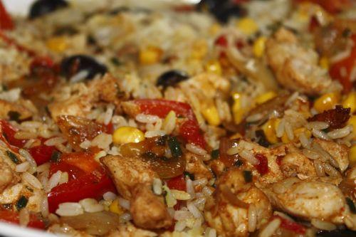 rice ladle paella fry up