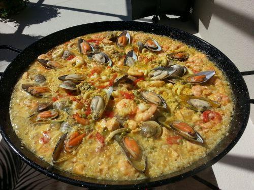 rich paella paella spanish paella