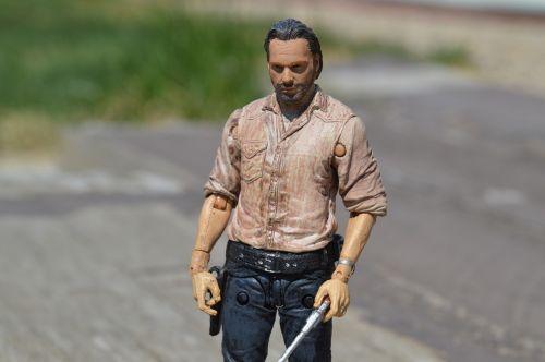 rick grimes the walking dead zombie