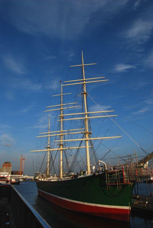 rickmers sailing vessel elbe