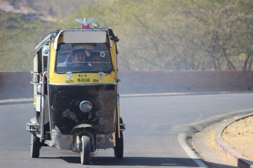 rickshaw tuktuk india
