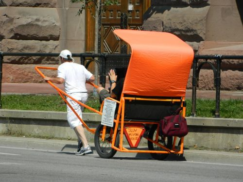 rickshaw taxi vehicle