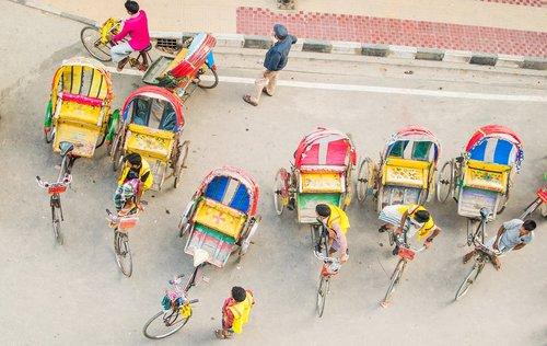 rickshaw  street  color