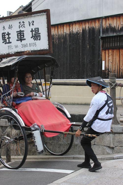rickshaw rickshaw man service