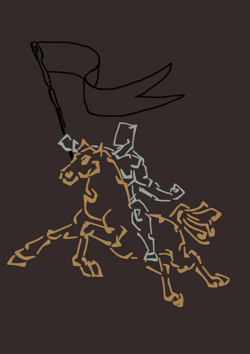rider knight fight