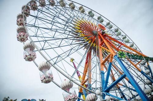 rides amp attractions the ferris wheel park