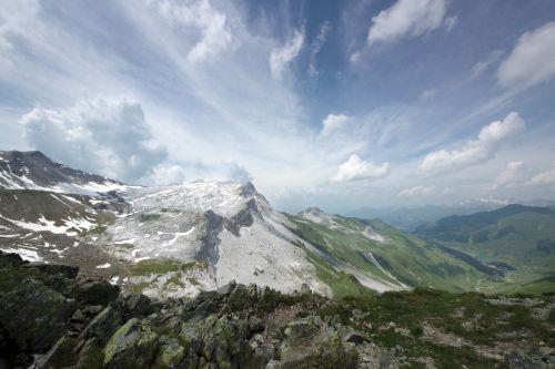 ridge alpine imposing