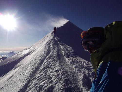 ridge bosses ridge montblanc
