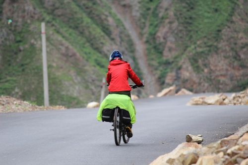 riding the little girl perseverance