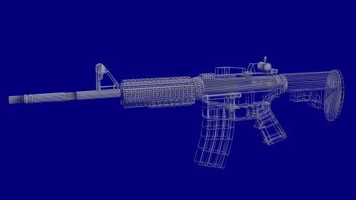 rifle m4a4 fight
