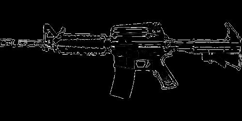 rifle automatic gun weapon