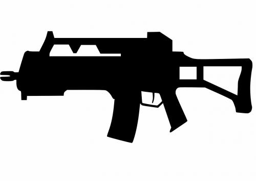 rifle gun war