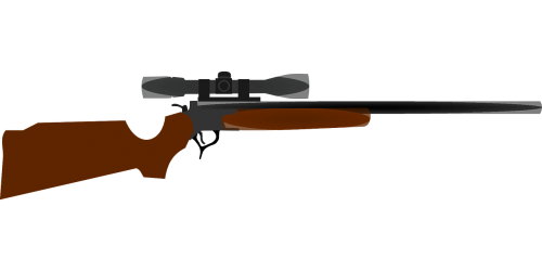 rifle scope weapon
