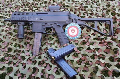 rifle pistol weapon