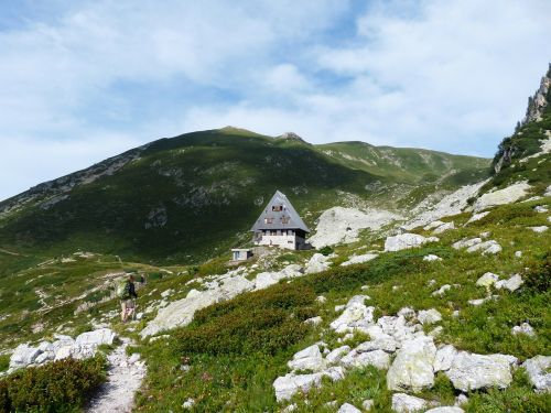 rifugio garelli alpine hut mountain hut