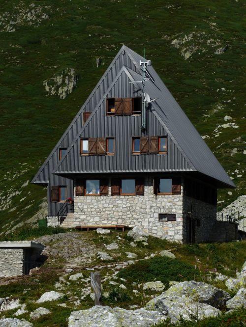 rifugio garelli alpine hut mountain hut