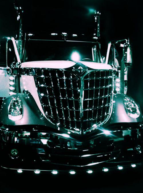 rig truck shine