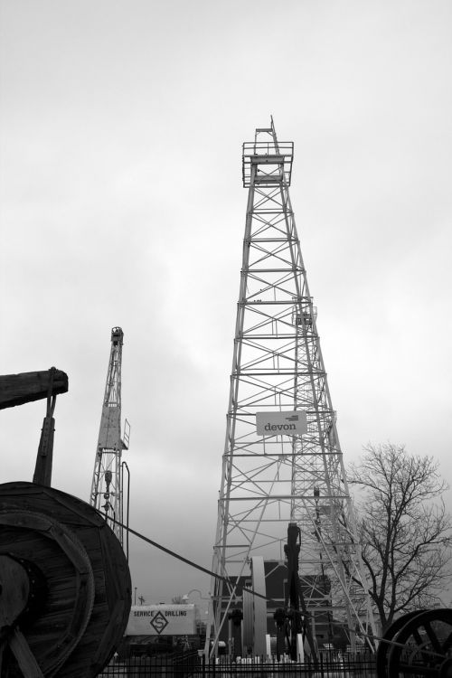 rig drilling oil