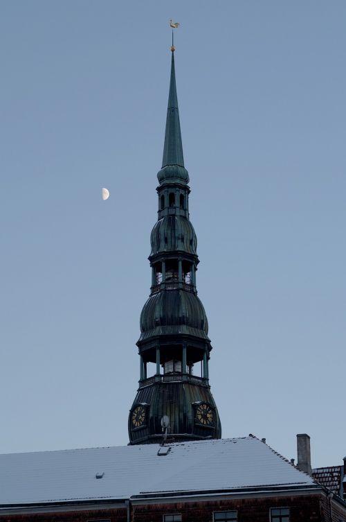 riga symbol of riga spire