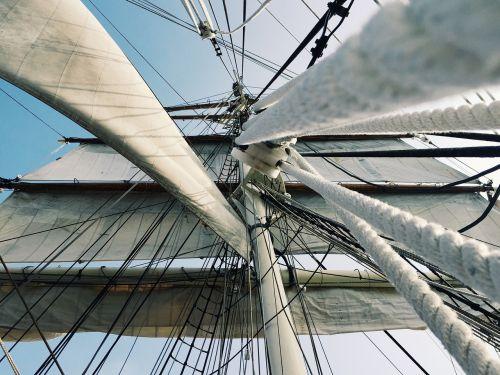 rigging tall ship sails